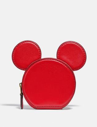 Coach Disney Mickey Mouse X Keith Haring Coin Case