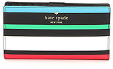 Kate Spade Harding Street Fiesta Stripe Collection Stacy Continental Wallet