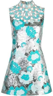 Michael Kors brocade embroidered shift dress