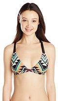 Body Glove Women's Maka Flare Halter Bikini Top