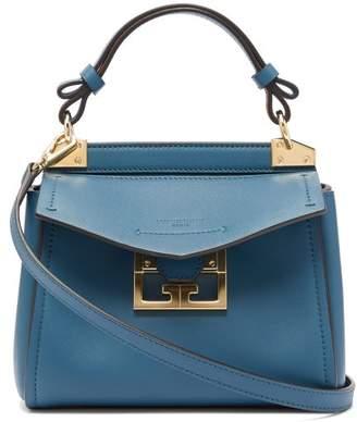 Givenchy Mystic Mini Leather Handbag - Womens - Blue