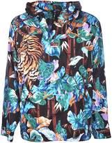 Kenzo Tiger Print Anorak Hoodie