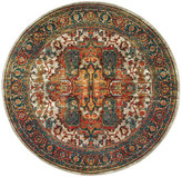 """Newcastle Home Casa Old World Persian Red and Multi Rug, 7'10"""" Round"""