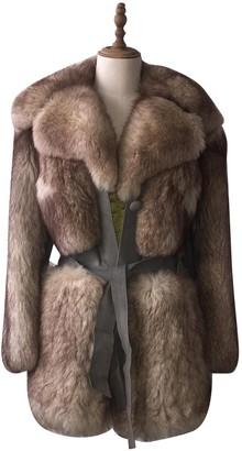 Diane von Furstenberg Fur Coat for Women