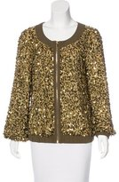 Tory Burch Sequin Casual Jacket