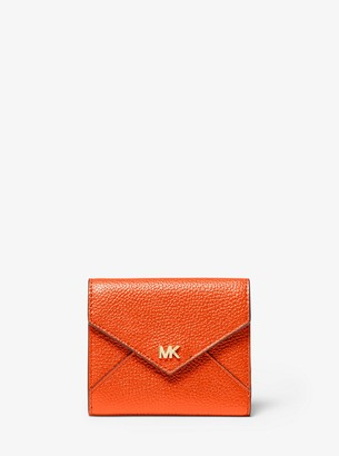 MICHAEL Michael Kors Medium Pebbled Leather Envelope Wallet