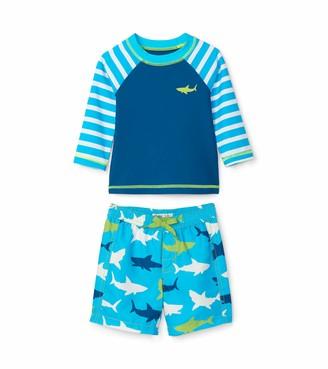 Hatley Baby Boys' Rash Guard Swimsuit Sets Swimwear