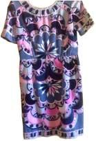 Emilio Pucci Grey Velvet Dress for Women Vintage