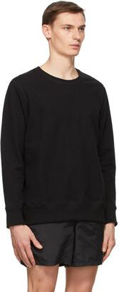 Bather Black Crewneck Sweatshirt
