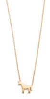 Ariel Gordon Jewelry 14k Gold Menagerie Unicorn Necklace