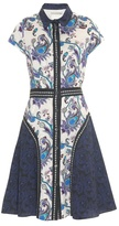 Mary Katrantzou Dunlop point-collar printed dress