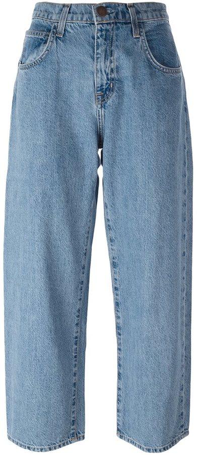 Current/Elliott wide-leg classic jeans
