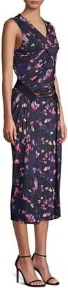 Jason Wu Collection Printed Jersey Sleeveless Sheath Dress