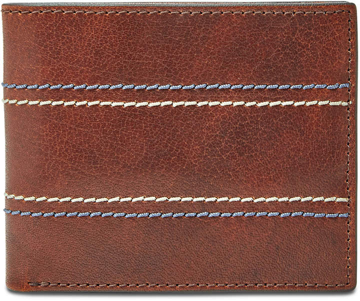 3791975cdfbb Men Reese Bifold Flip Id Leather Wallet