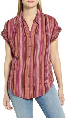 Caslon Stripe Woven Shirt