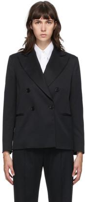 MM6 MAISON MARGIELA Black Wool Blazer