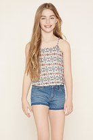 Forever 21 Girls Geo Print Cami (Kids)