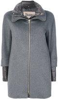 Herno layered coat