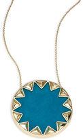 House Of Harlow Sunburst Pyramid Pendant Necklace