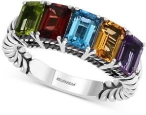Effy Multi-Gemstone Statement Ring (2-7/8 ct. t.w.) in Sterling Silver