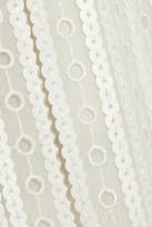 Marc Jacobs Embellished eyelet-chiffon maxi dress