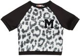 MSGM Neoprene And Brocade Sweatshirt