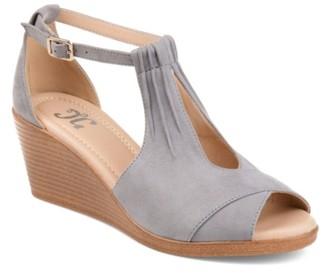 Journee Collection Kedzie Wedge Sandal