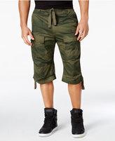 Sean John Men's Camo-Print Flight Cargo Shorts