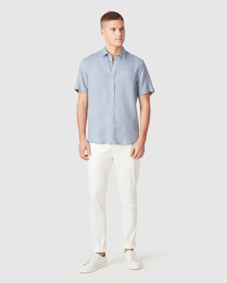 French Connection Men's Casual shirts - Linen Regular Fit Shirt - Size One Size, XXL at The Iconic