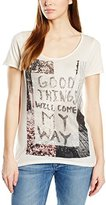 Rich & Royal rich&royal Women's T-Shirt - Beige -