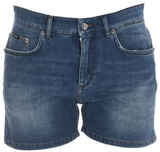 Dolce & Gabbana Faded Denim Shorts