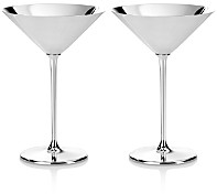 Greggio Silverplate Martini/Cocktail Glass