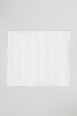 H&M Cotton Satin Duvet Cover - White