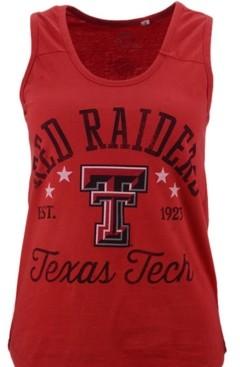 Royce Apparel Inc Women's Texas Tech Red Raiders Jersey Tank