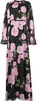 Giambattista Valli floral print maxi dress