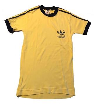 adidas Yellow Cotton Tops