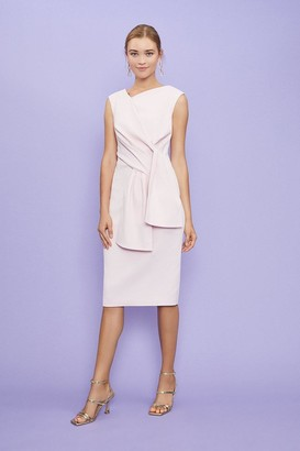 Coast Sleeveless Bow Front Shift Dress