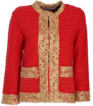 Red Barroque Jacket Maura