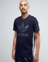 adidas Tokyo Pack Indigo T-Shirt In Blue Bk2220