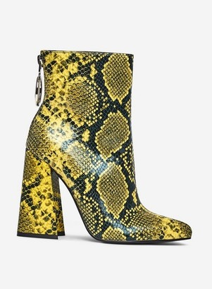 Dorothy Perkins Womens Lola Skye Green 'Lake' Ring Boots, Green