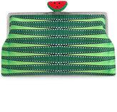 Sarah's Bag - watermelon clutch - women - Cotton/Polyester/Viscose/PVC - One Size