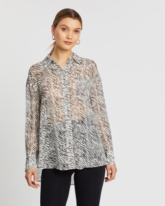 AllSaints Bernie Zed Shirt