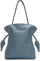 Loewe Blue Small Flamenco Knot Bag