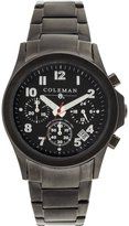 Coleman Men's COL7111 Casual Black Band Watch