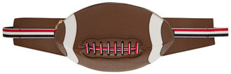 Thom Browne Brown Football Bum Bag
