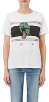 Saint Laurent Women's Graphic Jersey T-Shirt