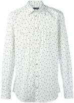 Dolce & Gabbana striped floral shirt - men - Cotton - 40