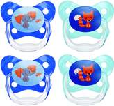 Dr Browns Dr. Brown's Dr Brown's Prevent Butterfly Pacifier Stage 2, 4 Pack