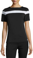 Blanc Noir Rugby Performance Polo Tee