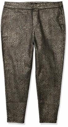 Forever 21 Women's Plus Size Leopard Print Pants